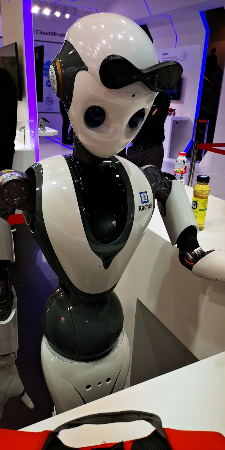 MWC Barcelona Roboter